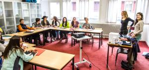 Insted in Chamonix provides language courses for all students