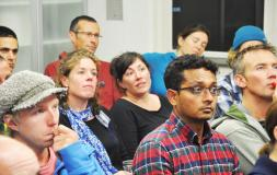 Many came to visit the altitude medicine lecture