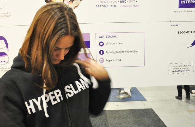 Hyper Island besökte Sacomässan i Stockholm