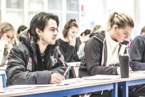 Chamonix student