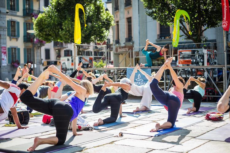 Chamonix yoga festival, chamonix summer activities, chamonix holiday