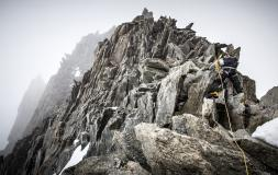 climbing chamonix
