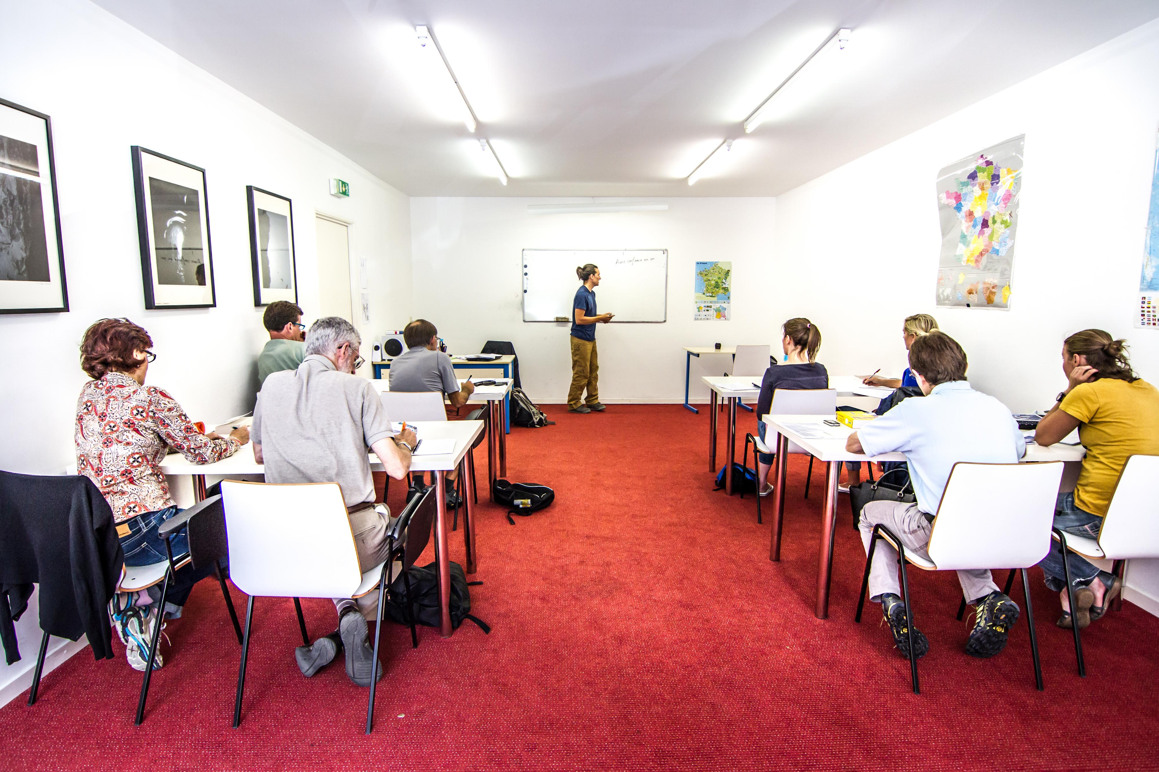 Language courses at Insted in Chamonix