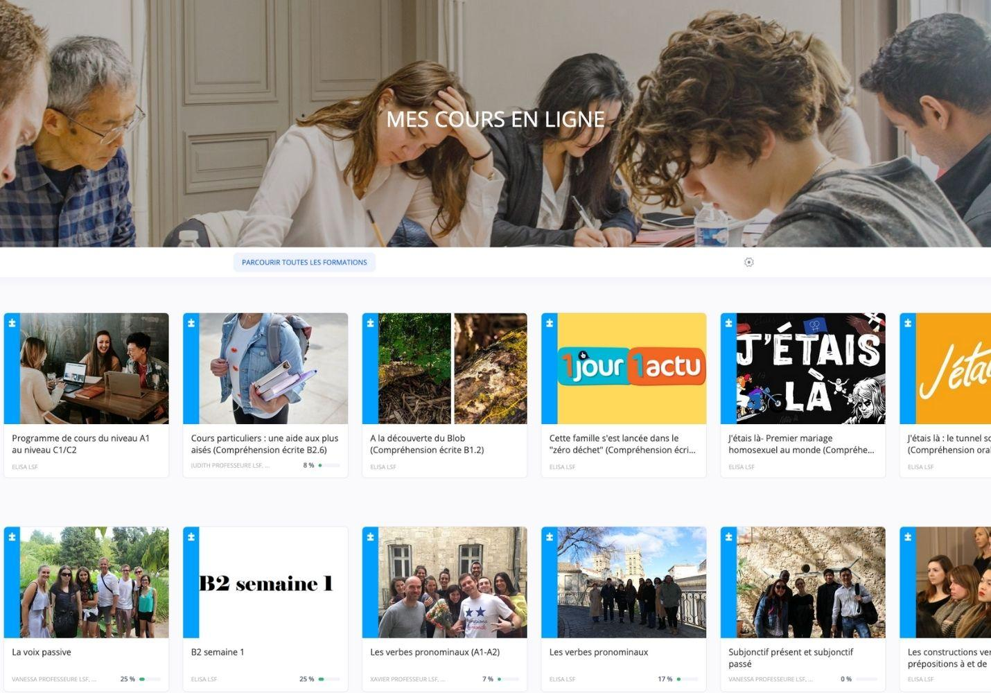 Elearning French Courses